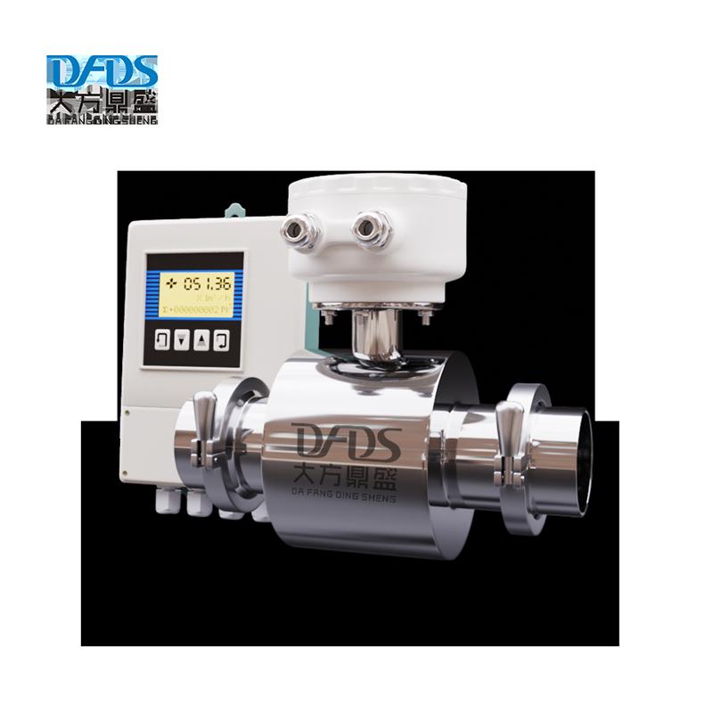 Wysoka precyzja 24V cyfrowy czujnik poziomu wody medidor de flujo de agua elektromagnetyczny miernik przepływu mleka