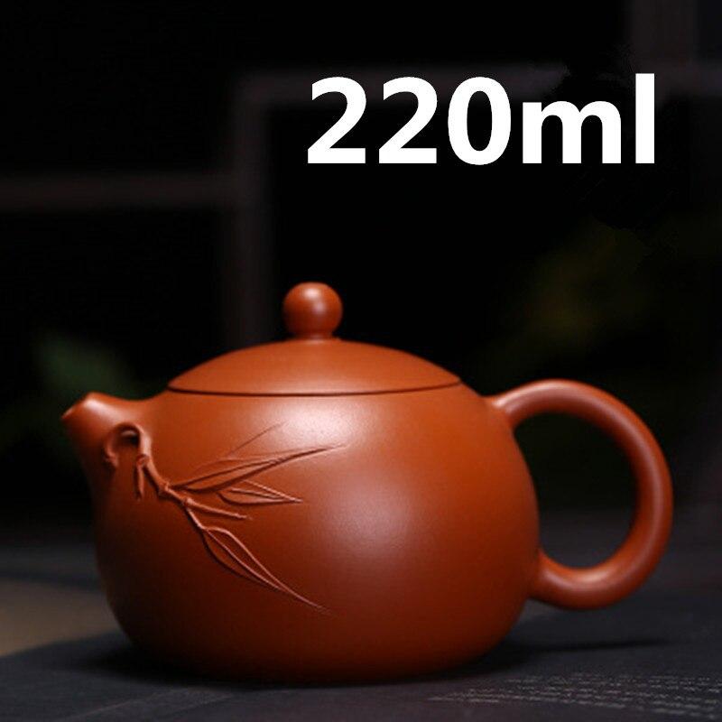Teteras de porcelana china 2020 Yixing Zisha tetera Gongfu juego de té 220ml recién llegado de alta calidad con caja de regalo Embalaje seguro