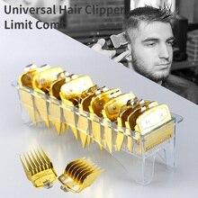 10 tailles tête dhuile Guide électrique peigne taille pièces de rechange pour Wahl haute qualité or Clipper limite peigne pousser outil de cisaillement