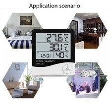 1 PC Indoor-Outdoor-Digital Thermometer Hygrometer mit LCD Display Temperatur Feuchtigkeit Meter