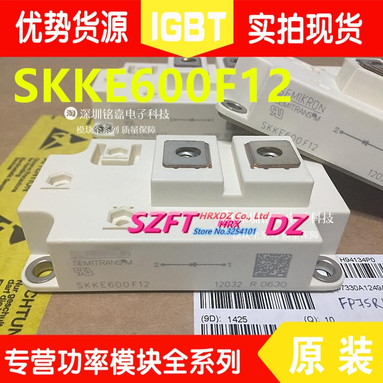 SZFTHRXDZ 100% جديد الأصلي 1 قطعة SKKE600F12 وحدة