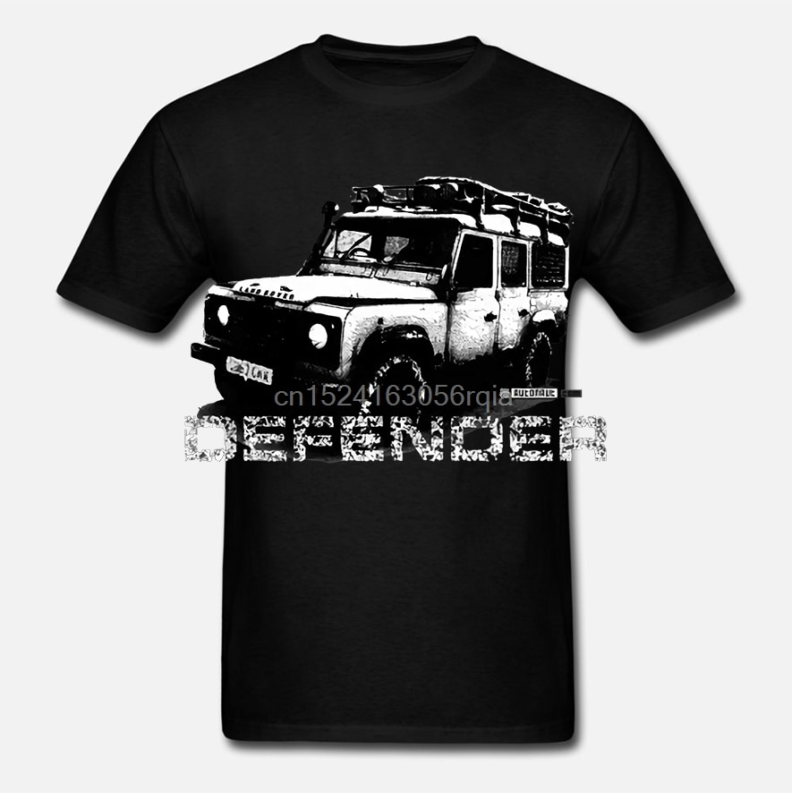 Camiseta Land Streetwear Harajuku 100% de algodón para hombre, camiseta Rover Deharajuku Streetwear, camisetas para hombre Illustation