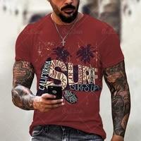 new men t shirt oversized retro short sleeved summer new t shirt fashion harajuku street letters 3d printing t shirt men