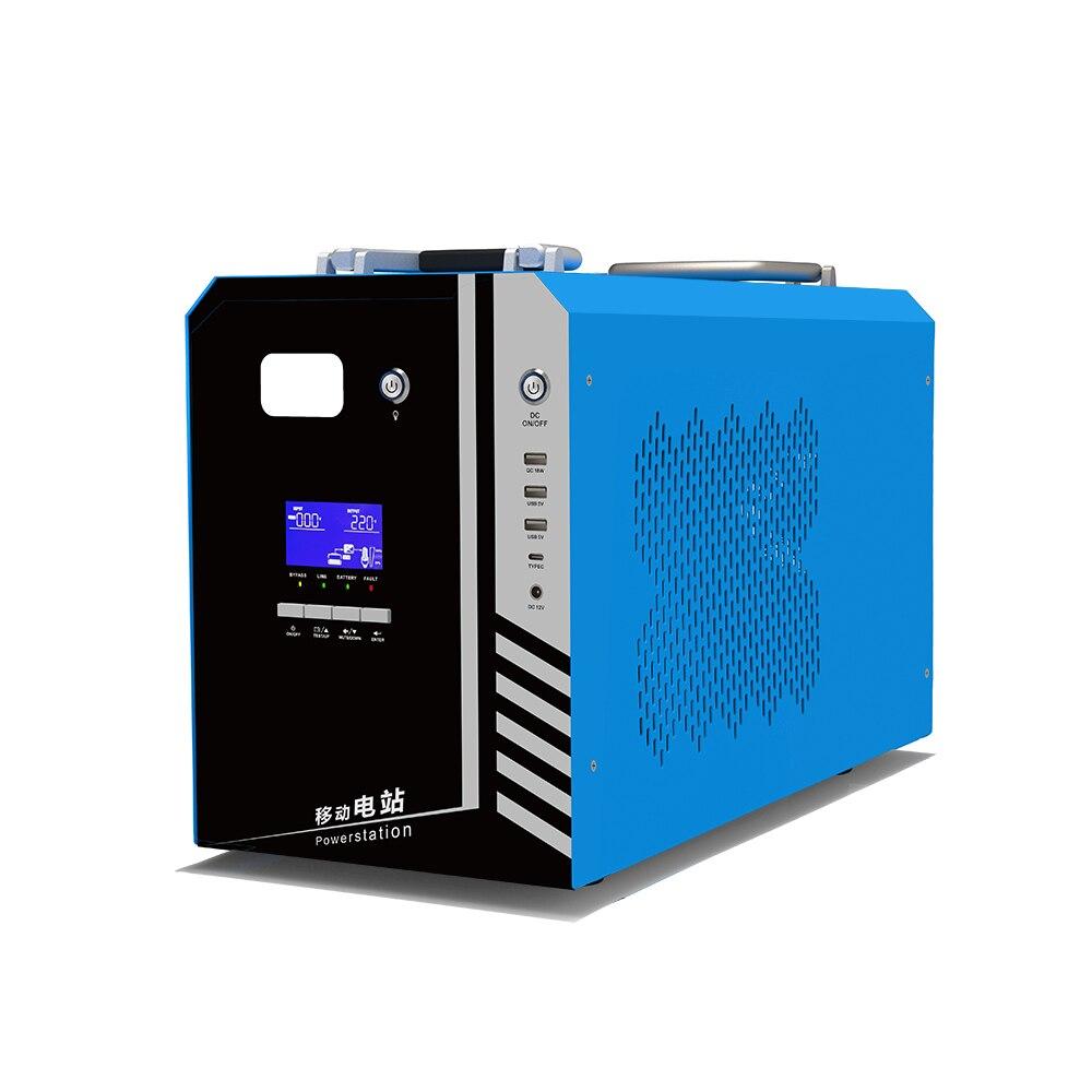 في الهواء الطلق بار بانك طاقة محمولة محطة 2000va 2kva ليثيوم بطارية ليثيوم أيون UPS