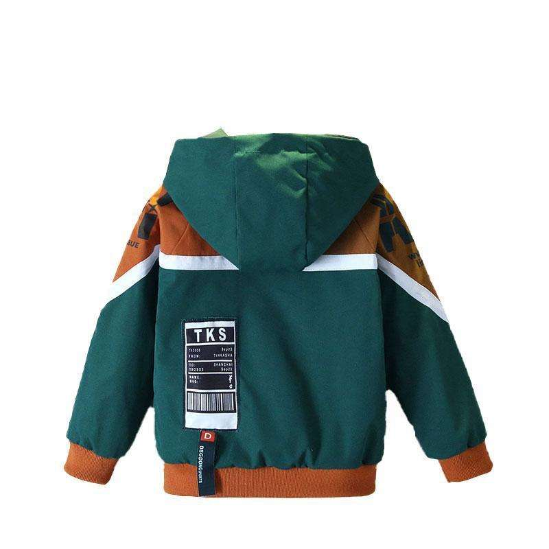 New Fashion Spring Autumn Baby Girls Boys Clothes Children Hooded Jacket Toddler Casual Costume Infa