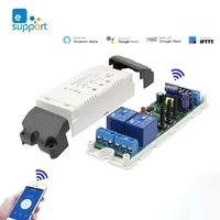 EWeLink Wifi Automation 433MHz Control Switch DC 12v 24v 220v 2 Channel Inching Self-Locking Wireless Relay Module Smart Home