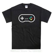 Snes Pad Controller Colour Buttons Joypad Tribute Mens T shirt Black 2018 New Arrival Men Fashion