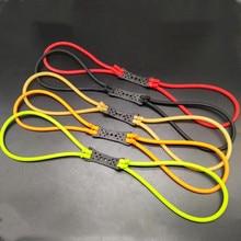 200 pièces rond élastique utilisé pour fronde vous pouvez choisir la couleur besoin de remarque dans lordre gants de chasse