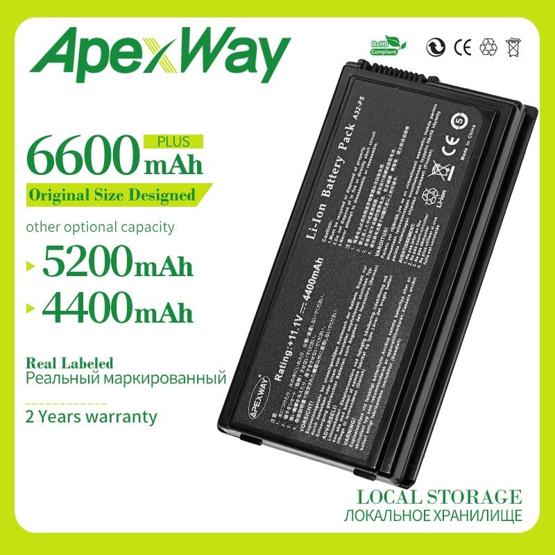 6 celdas batería de portátil para ASUS F5N F5R F5RL F5S F5SL...