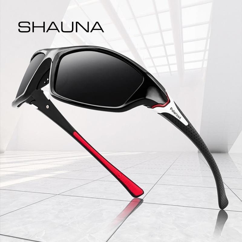 SHAUNA Classic Polarized Sunglasses Men Driving Sun Glasses Women Sports Glasses UV400