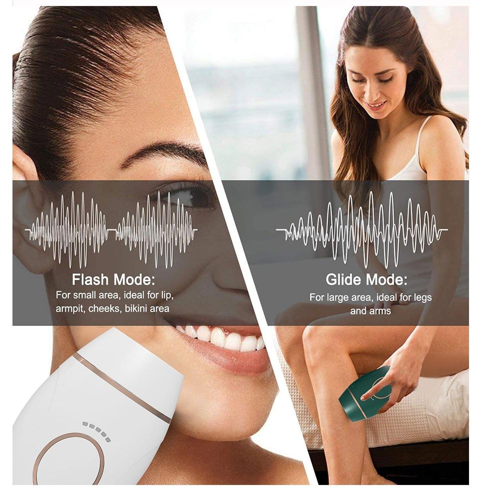 Ipl Ontharing Mini Handheld Laser Epilator Machine Voor Hele Lichaam Permanente Pijnloos Depilador 600000 Flash Haar Remover enlarge