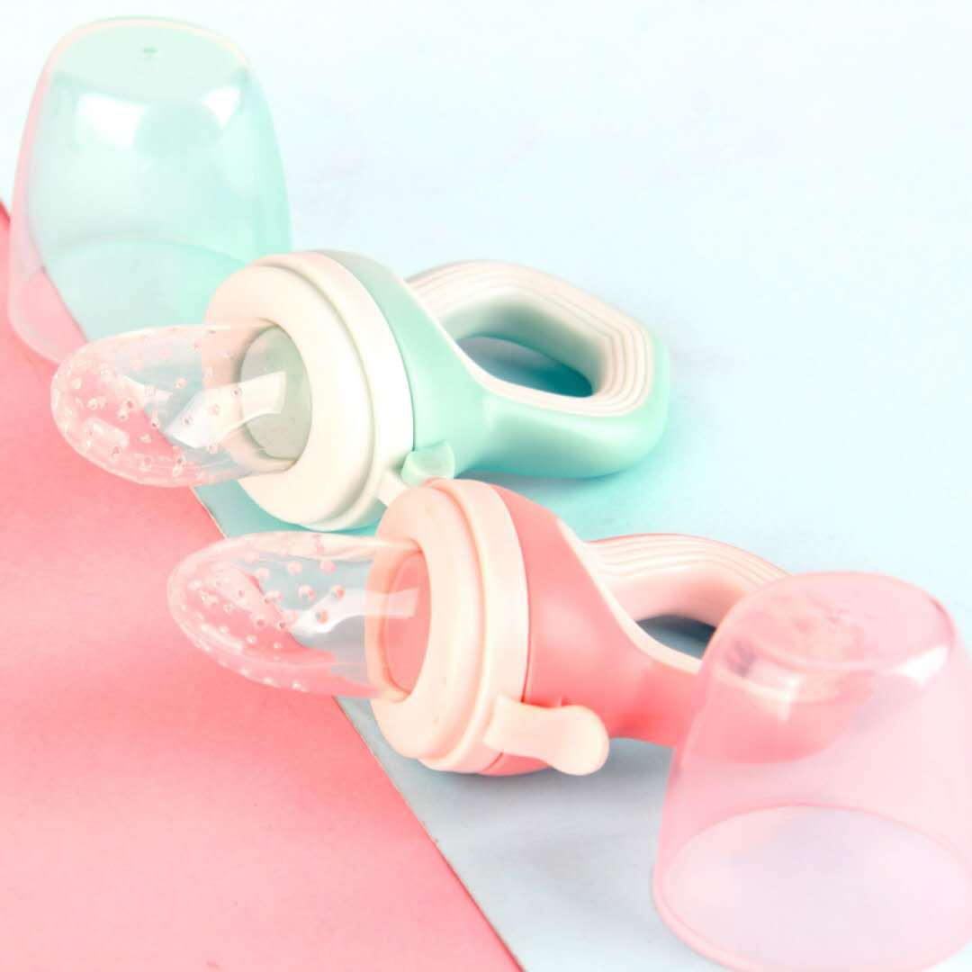 Silicone Fresh Fruit Baby Pacifier Soother Holder Supplies Luxury Girl Baby Pacifier Feeding Chupete  Baby Toys BW50NZ