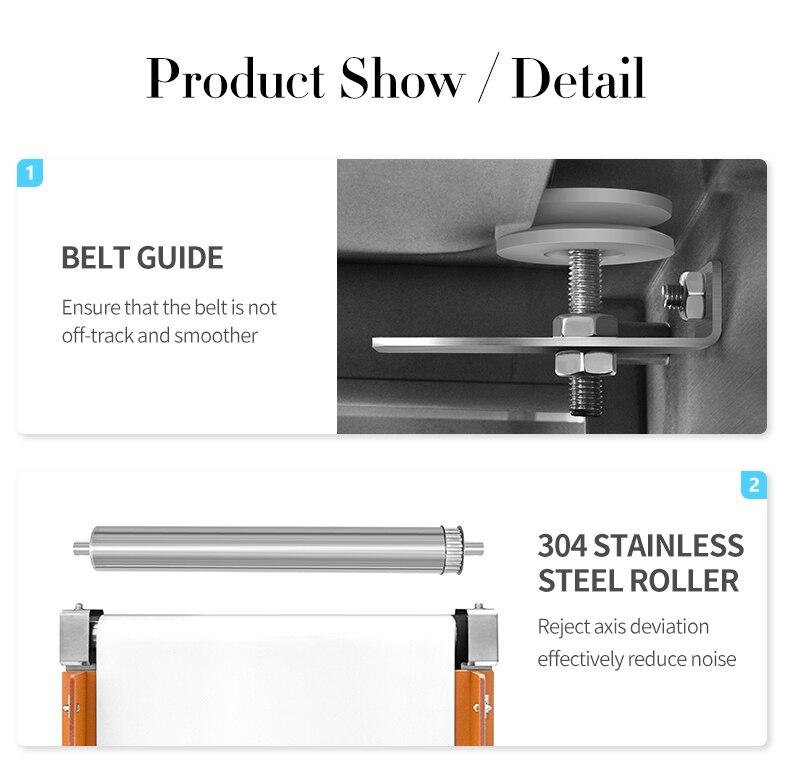 New Technology Industrial Conveyor Belt Metal Detector For Food Packaging enlarge