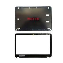 Tylna pokrywa LCD do laptopa/pokrywa przednia LCD do HP Envy 6 6-1000 montaż 692382-001 czarna obudowa A i B 7J260