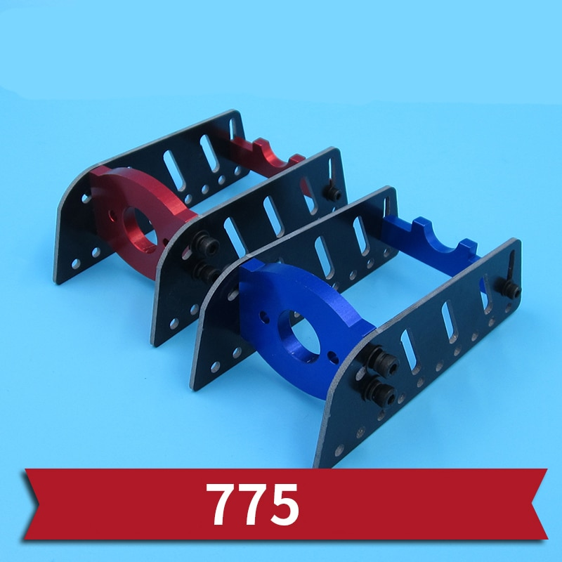 1PC 775 Motor Mount Glass Fiber 775 Brushed Motors Fixing Bracket 29mm Mounting Distance Motor Holder for RC Boats Parts enlarge