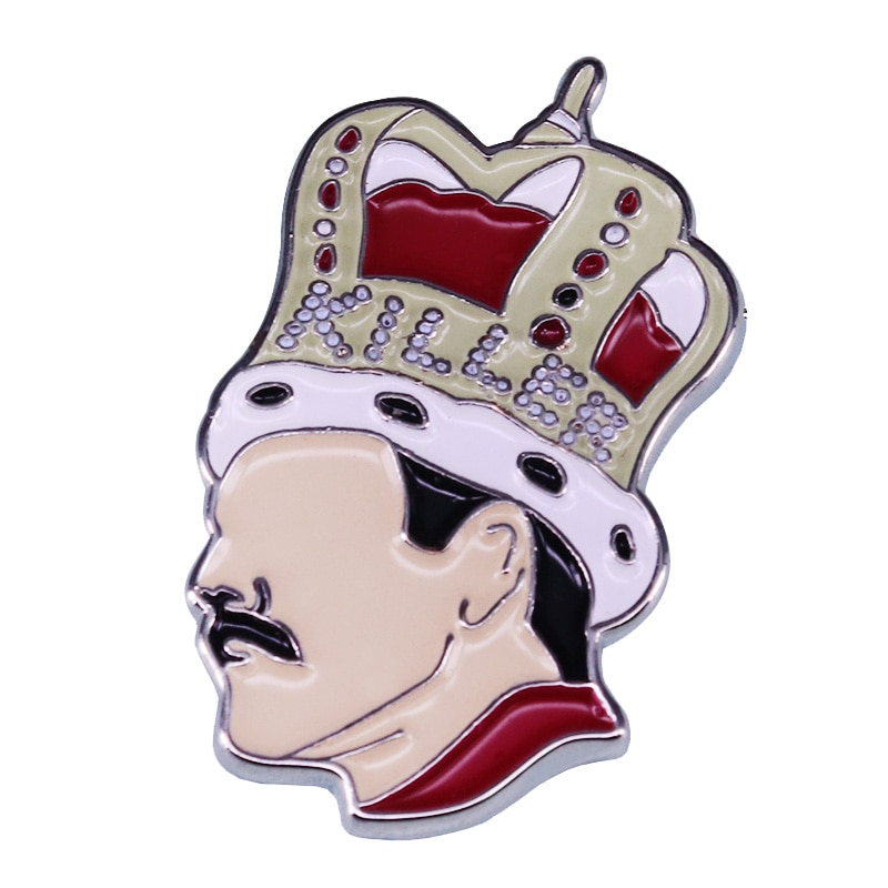 Freddie Mercury Killer Queen Enamel Pin A Tribute to the Charismatic Icon and Monumental Talent
