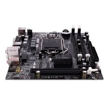 H55 LGA 1156 carte mère Socket LGA 1156 Mini ATX image de bureau USB2.0 SATA2.0 double canal 16G DDR3 1600 pour Intel