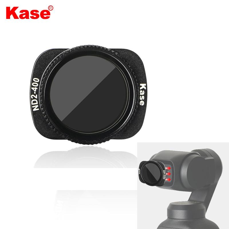 Kase متغير MC ND VND محايد الكثافة تصفية ND2-400 تصميم المغناطيسي الزجاج البصري ل DJI oomo جيب 1/2 يده كاميرا