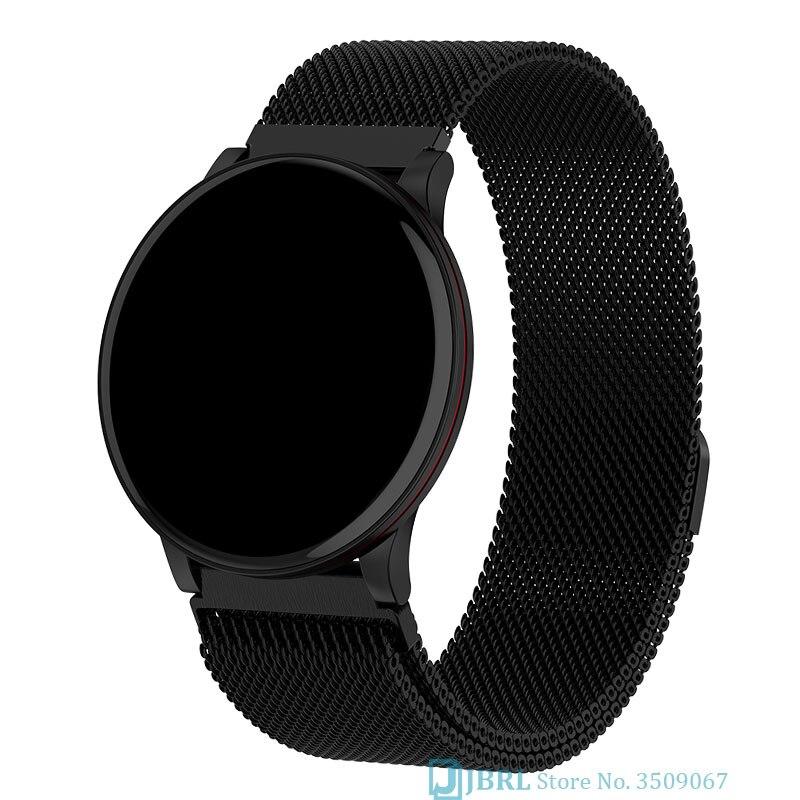 Relógio inteligente relógio de pulso inteligente para android ios eletrônica relógio inteligente wach rastreador de fitness novo-relógio de pulso