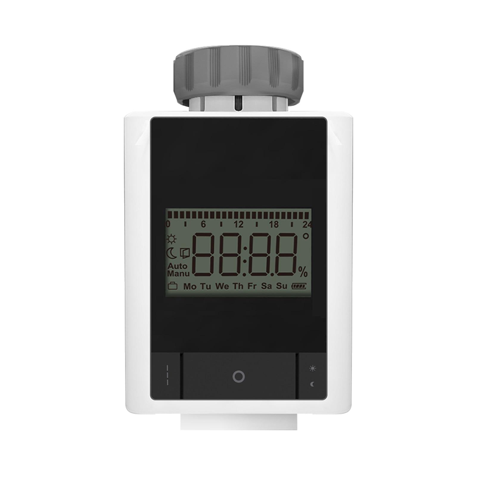 صمام التحكم الذكي في درجة الحرارة للبرمجة المنزلية صمام تنظيم درجة الحرارة زيجبي 3.0 تويا APP التحكم عن بعد