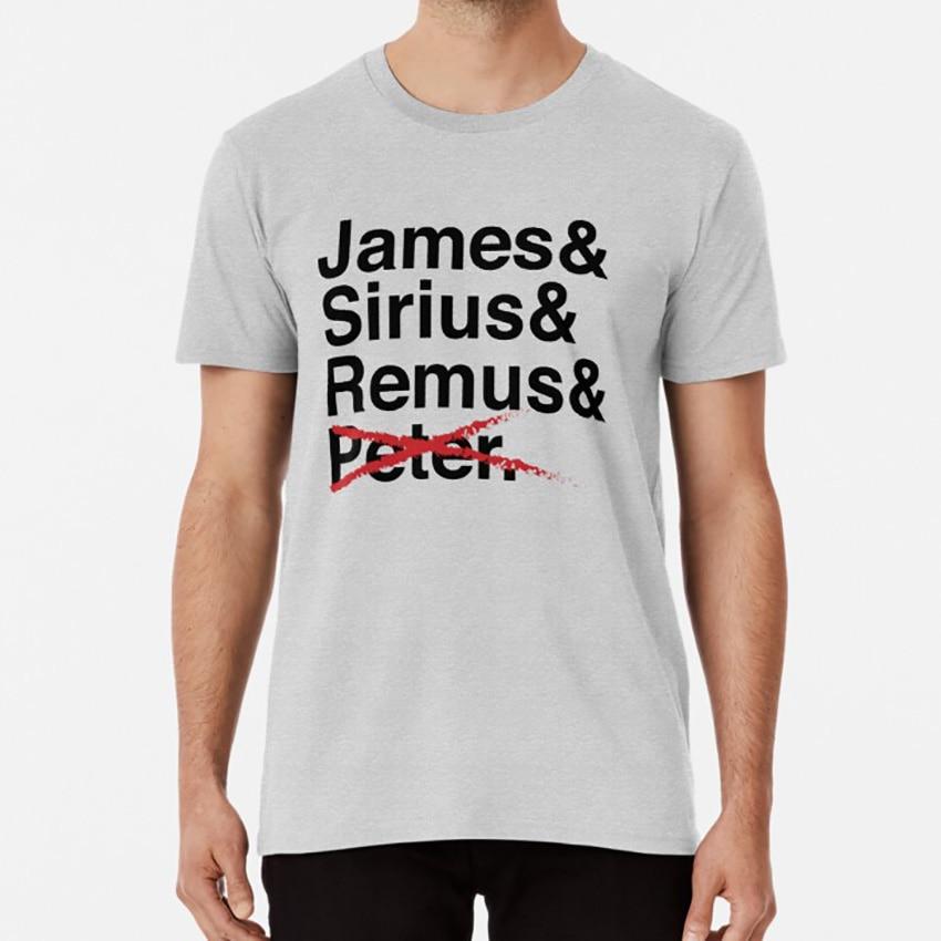 James y Sirius y Remus y X T camisa de Los merodeadores J K Rowling James Potter Sirius negro Remus Lupin Peter Pettigrew libro libros