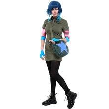 Ramona fleurs Cosplay Costume Cargo robe tenue avec étoile cercle sac de messager