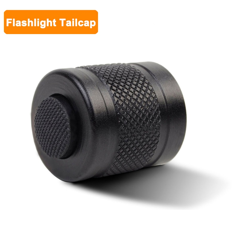 Outdoor Flashlight Pressure Switch Tactical Aluminium Tailcap for SureFire 6P 9P G2 G2X G2ZX 6PX Z2X
