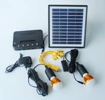 لوحة شمسية صغيرة محمولة ماركة cob Yiu 4W موديل رقم 038 مع بطارية ليثيوم 7.4 فولت 4.5Ah