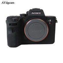 Étui souple pour appareil photo en Silicone étui en caoutchouc pour appareil photo Sony A7R IV A7R4 A7 III A7R3 A7R III A9 A7 II A7R2 A7S2 A7R A7S