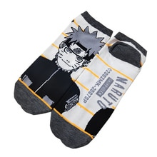 1 pairs Naruto Anime Cotton Socks Cute Female Kawaii Summer Short Socks Women Casual Soft Funny Socks