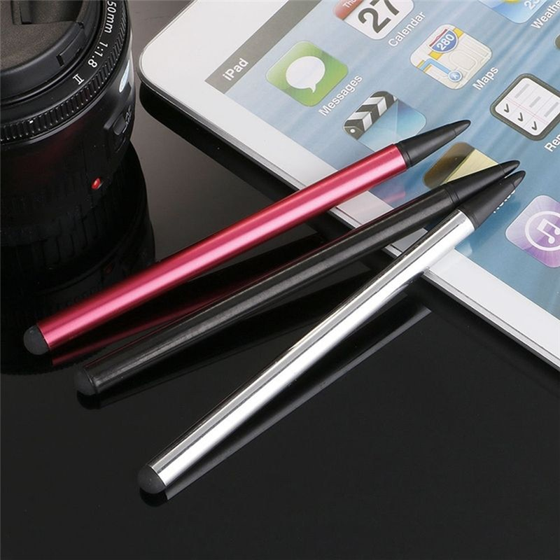 2 In1 Touch Screen Pen Stylus Universal For IPhone IPad Samsung Tablet Phone PC Smart Pencil Accesso