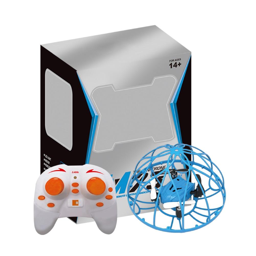 M69 2.4g zangão seguro rc quadcopter 360 ° flips rugby futebol escalada brinquedo do miúdo