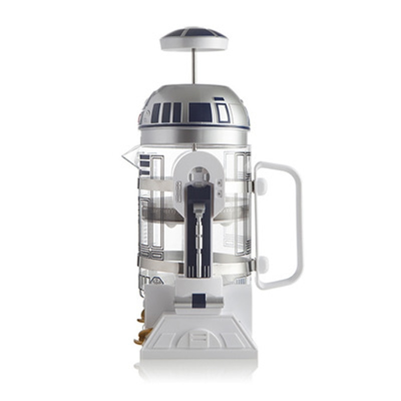 Cafetera Manual Star Wars Mini de 960ml para el hogar R2-D2 cafetera francesa cafetera portátil para café turco