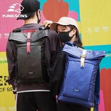 Kingsons New Leisure Backpack 15.6'' Laptop Backpacks Men and Women School Bag Waterproof Travel Bag
