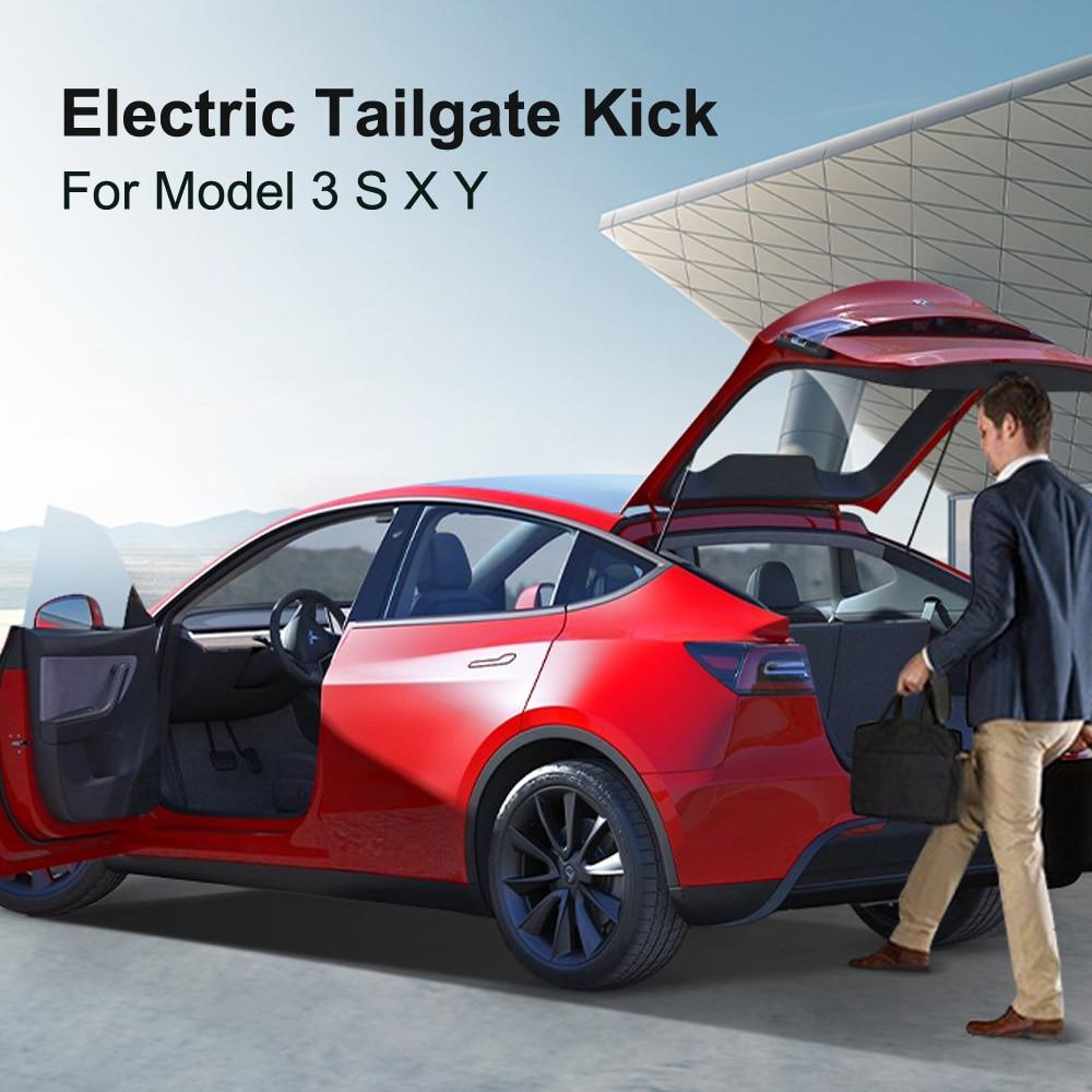جهاز استشعار ذكي للقدم بالبوابة الخلفية للسيارات الكهربية SATONIC جهاز استشعار للساق لموديل تسلا 3 X S Y frank الباب الخلفي