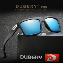 Driver Goggles DUBERY Man Sunglasses Outdoor Polarized Plated Sunglasses UV400 Eye Protection Sungla
