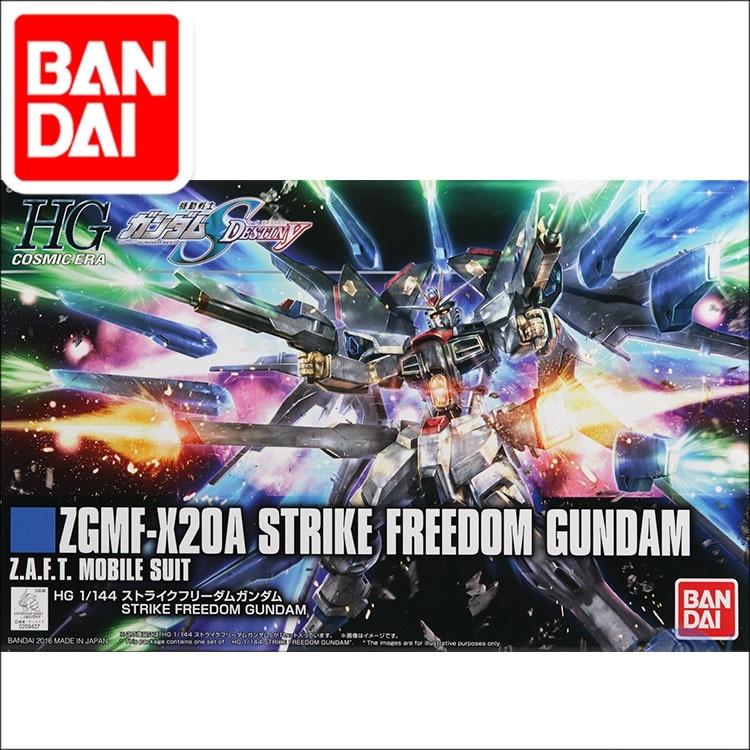 Original HG 1/144 Gundam modelo ZGMF-X20A huelga libertad GUNDAM NORN armadura desencadenado traje móvil juguetes de los niños