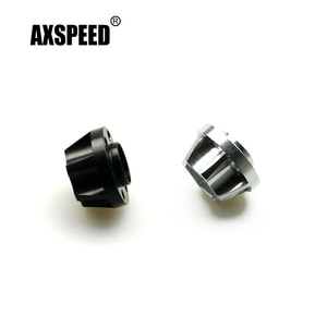 """AXSPEED 4 Pcs/set Aluminum Hub Hex 14mm for Axial SCX10 1/10 RC Crawler Car Alloy Beadlock 1.9"""" Wheels Rims Upgrade Parts"""