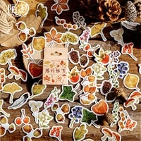1  1pack Kawaii Falling Leaves Bookmarks Book Page Convenient Literature Art School Office Students Supplies Bookmarks Gifts