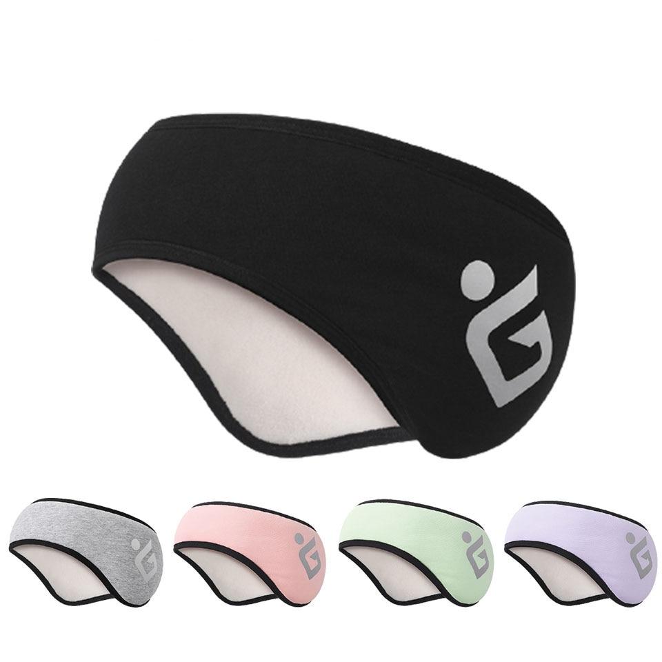 Женские зимние наушники, наушники для зимы, теплые наушники на голову, спортивные наушники, защита ушей, шумоподавляющие наушники