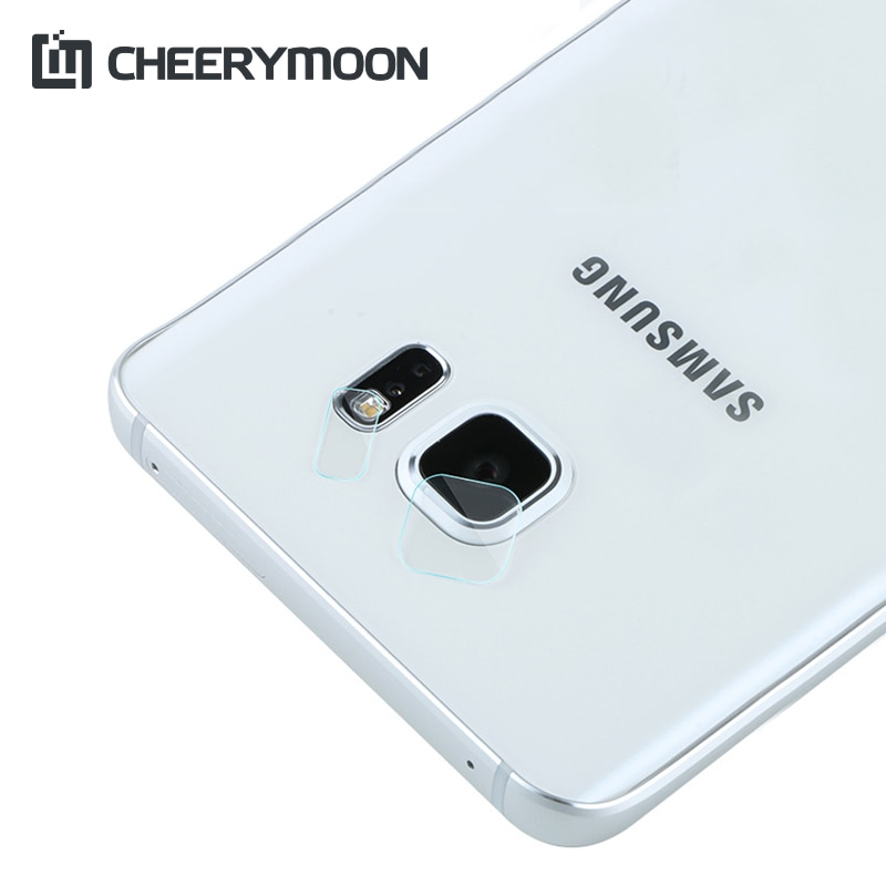 HQ lente de cámara/película protectora de Flash para teléfono Samsung Galaxy S6 SVI HD, película 0,05mm 7,5 H, pegatinas de cristal + regalo