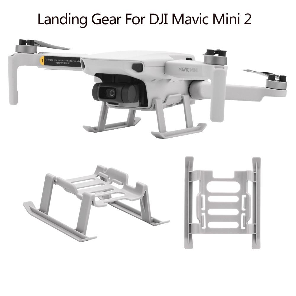 Landing Gear Extensions Leg For DJI Mavic Mini 2 Drone Support Leg Protection Height Extender Expansion Protector Accessory folding landing gear height extender leg guard protector for mavic air 2 drone l9ba