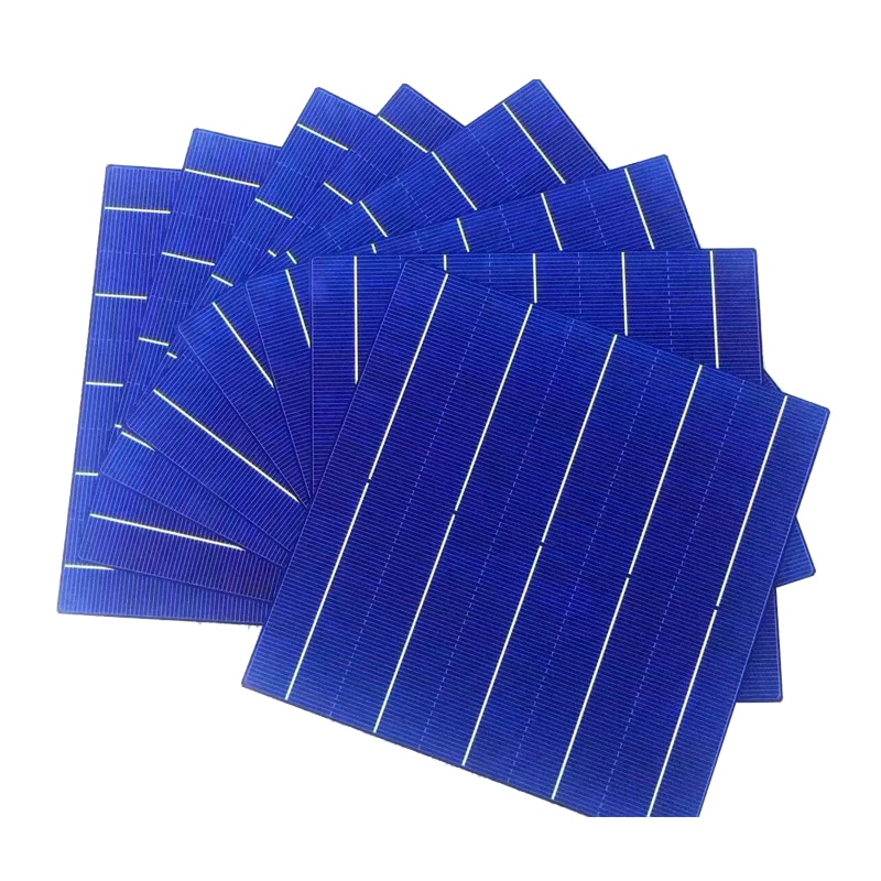 40 Pcs 4.5W 18.4% Efficiency Polycrystalline Silicon Solar Cell Elements 156.75 x 156.75MM For Sale