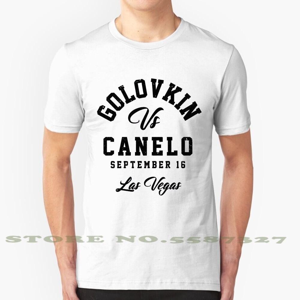 Golovkin del Canelo personalizado gráfico divertido gran oferta camiseta Golovkin Alvarez Golovkin...