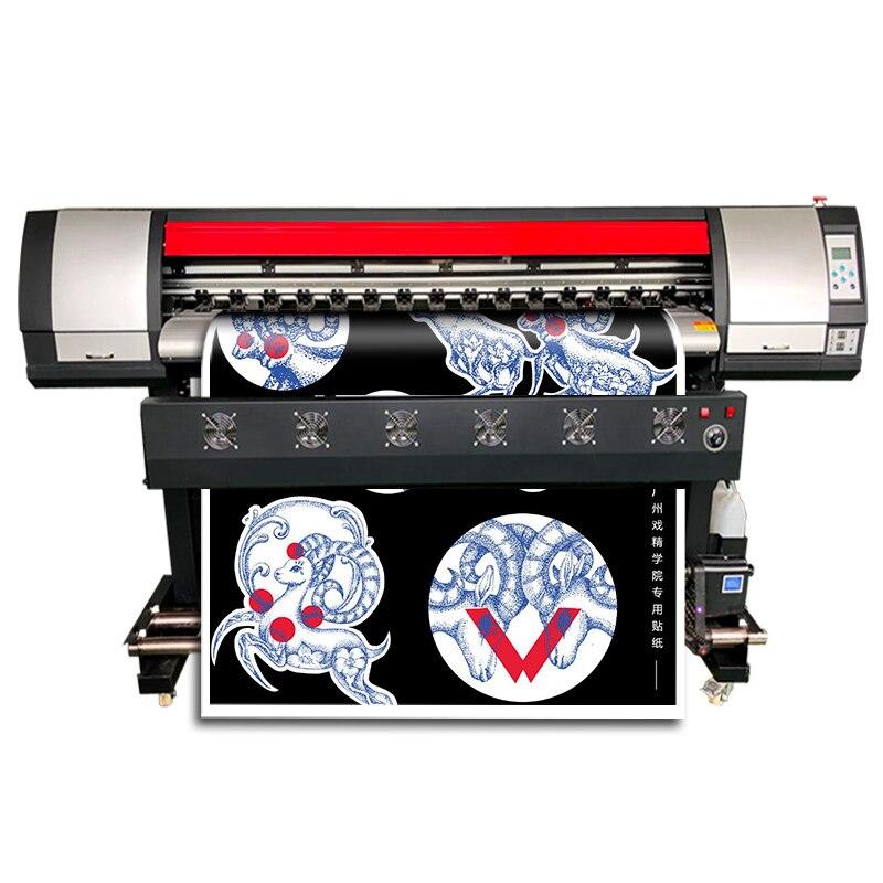 Impresora Digital de gran formato 160cm CMYK Color pegatina Plotter máquina de calidad fiable DX7 impresora Eco solvente