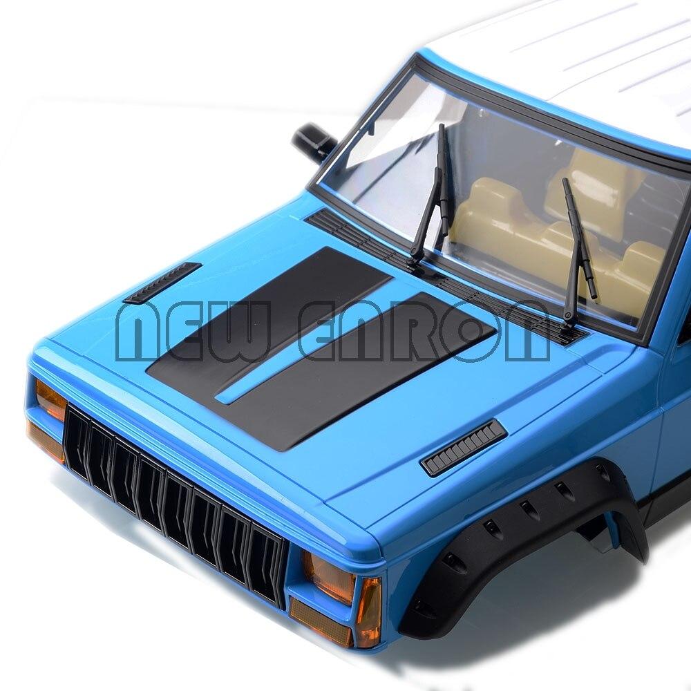 1/10 Wheelbase Hard Plastic Cherokee Body Car Shell Painted For RC Crawler Axial SCX10 II 90046 90047 TRX4 KIT NEW ENRON 313mm enlarge