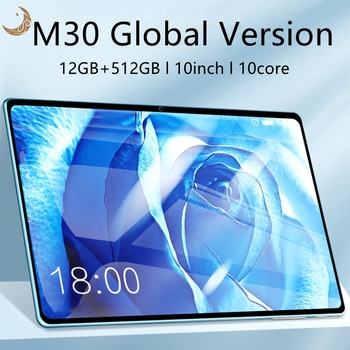 M30 Pro 10.1 inch'' tablet android Global Version Network tablets android mtk6797 10 Core 12GB + 512GB tablet osu 10.0 Wifi Ty