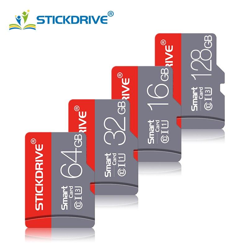 Carte Micro SD 128 GB 32GB 64GB 16G carte Microsd SDXC SDHC classe 10 carte mémoire Flash 32 64 128 gb pour téléphone