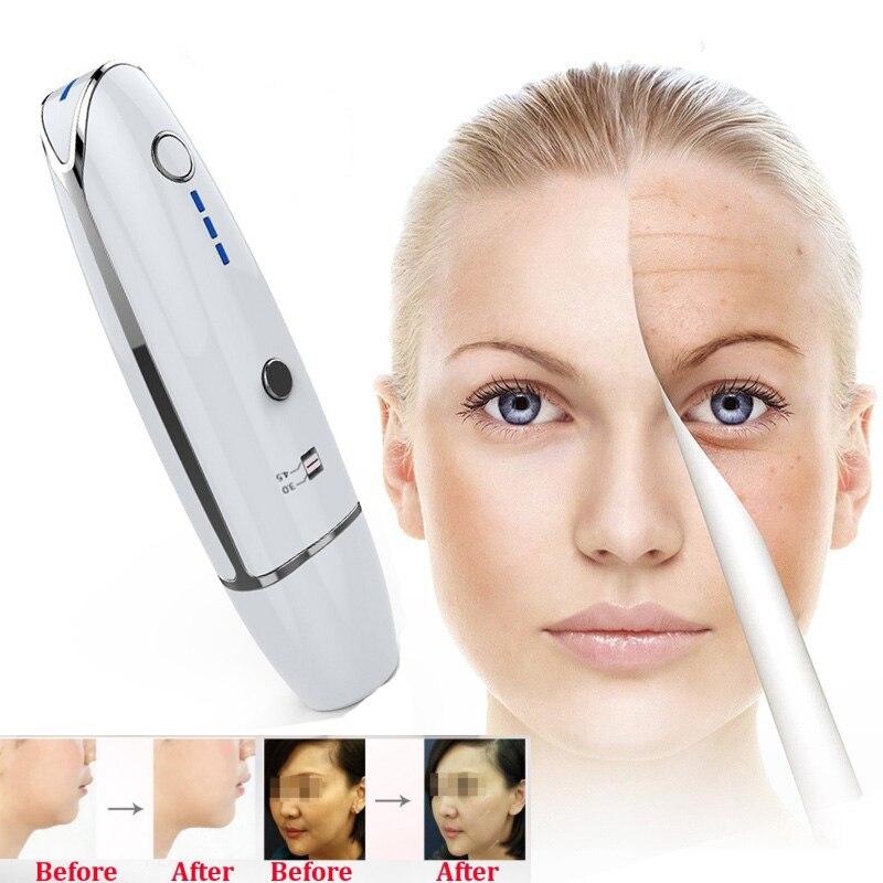Precio de fábrica Mini HIFU Theory Anti-envejecimiento piel Estiramiento facial RF LED Anti arrugas cuidado de la piel Spa belleza ultrasonido máquina de uso en el hogar