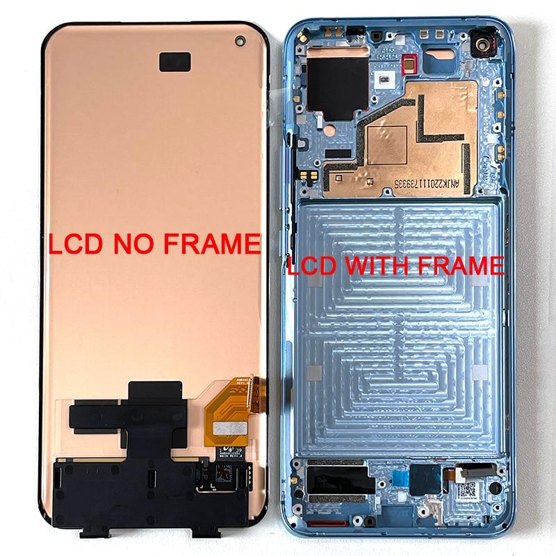 شاشة AMOLED LCD تعمل باللمس مع شاسيه ، 6.81 إنش ، لهاتف Xiaomi MI 11 ، أصلي
